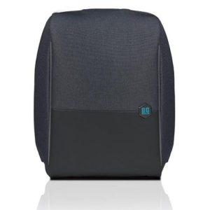 MetroBag anti-theft backpack – Black Asphalt (15″/ + rain cover)