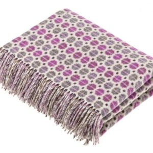 Wool throw Spa lavender - 6A982EF4 6F62 48AB B294 A0060E5C2B4E 500x500