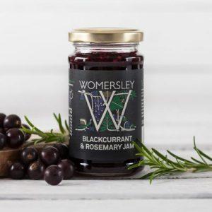 Blackcurrant & Rosemary Jam, Case of 6 x 250g - Blackcurrant Rosemary Jam Lifestyle Square 800x 500x500