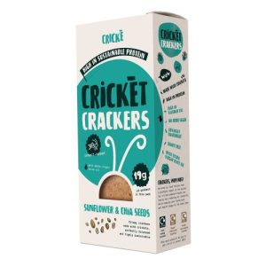 Cricket Crackers Sunflower & Chia