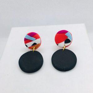 Cruella - Mini Earring Black Stud - CRU102 500x500
