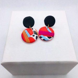 Cruella - Mini Earring Black Drop - CRU104 500x500