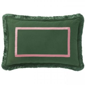 Cushion Grace Dark Green