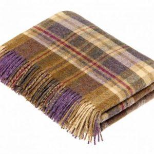 Wool throw highland heather - DDA344BF C2B7 48DF BA78 139C3BCBBF93 500x500