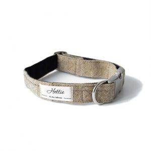 Dog Collar - Slate Oatmeal - Dog Collar SO 500x500