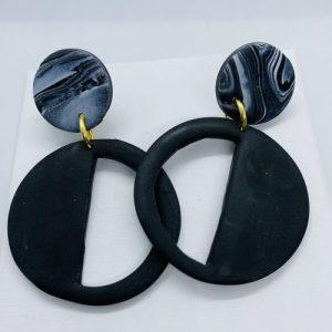 Embers - Smoke Haze Stud Earring - EMB301 500x500