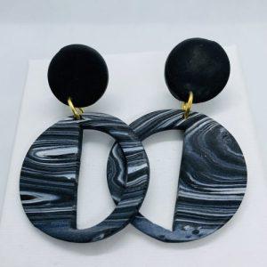 Embers - Smoke Haze Deco Earring - EMB302 500x500