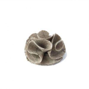 Dog collar flower accessory - Slate Oatmeal - Flower SO 46f6975c 6f59 451e a9c5 b86e95f8d1cc 500x500