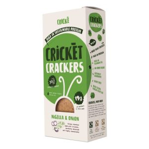 Cricket Crackers Nigella & Onion