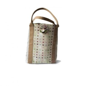 Kate Tote Handbag – Multispot Lime