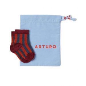 Baby Arturo Riga Dritto – Ruggine/Blu