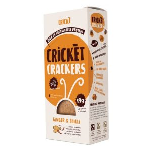 Cricket Crackers Ginger & Chilli