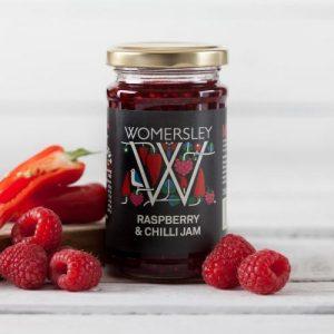 Raspberry & Chilli Jam, Case of 6 x 250g - Raspberry Chilli Jam Lifestyle Square 800x 500x500