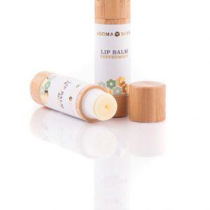 AromaBuff Peppermint Beeswax Lip Balm