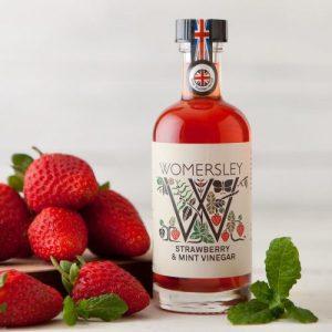 Strawberry & Mint Vinegar, Case of 6 - Womersley StrawberryMint 100ml Nov15NOTHSHiRes 29 800x 500x500