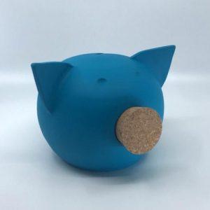 Chalk Collection Medium Blue Piggy Bank - blue medium 2 b68e222d 0142 4f62 9cfe 81d409a9d647 590x 500x500