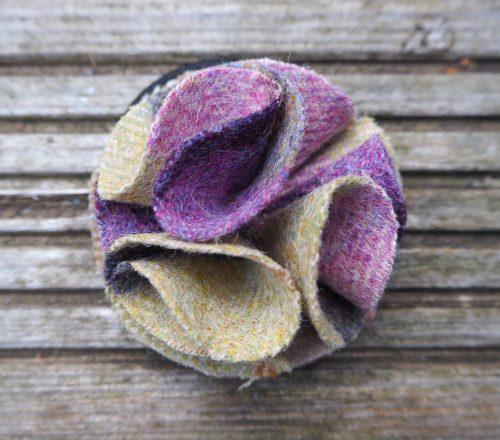 Hettie ladies hair bobble Gargrave lilac