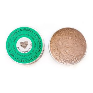 Vegan Mineral Foundation – Glow – Refillable Tin (10g)