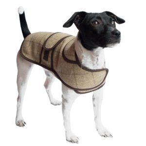 Jasper Dog Coat – Slate Oatmeal