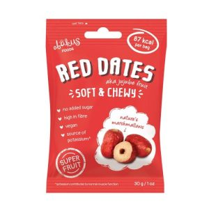 12 x Bags Red Dates (Jujube Fruit), Soft & Chewy