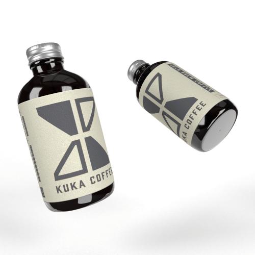 Kuka Cold Brew Coffee 240ml Ready-To-Drink X 4
