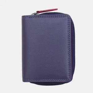 London RFID Small Purple Multi Colour Purse – 6085