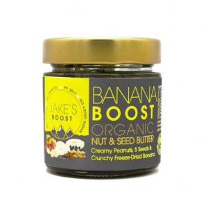 Jake's Boost Banana Boost Nut and Seed Butter - Banana Front 1 1024x1024@2x 500x500