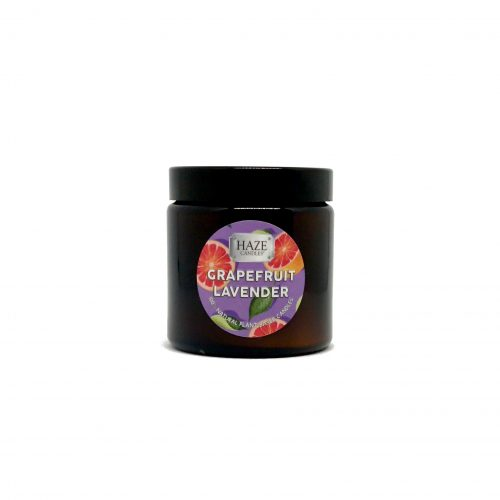 grapefruit lavender scented candle