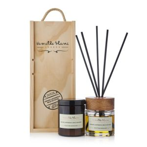 GIFT SET -  100 ML DIFFUSER + 170 ORGANIC CANDLE - Grosso Lavender & Wild Vetivert - Giftset Grosso lavender 500x500