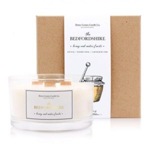 The Bedfordshire – Honey and Nectar Fruits 3 Wick Candle
