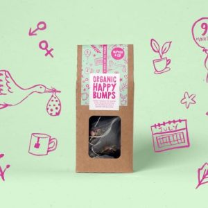 Organic Happy Bumps – Herbal Tea For Pregnant Mamas - KM Organic Happy Bumps Pregnancy TeaIllustrations 500x500