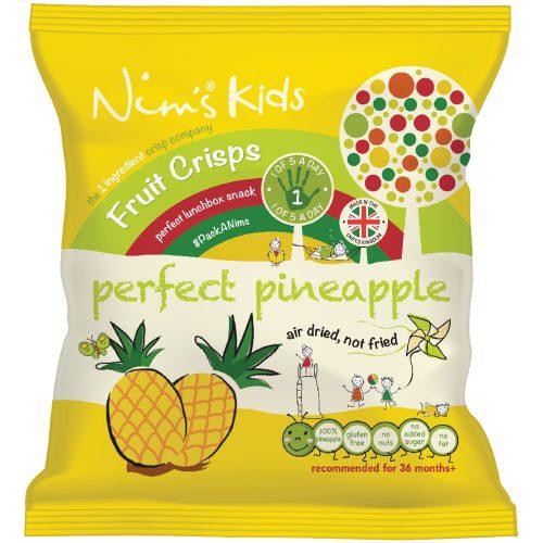 15 Pack – Kids 100% Natural Air Dried Pinepapple Crisps