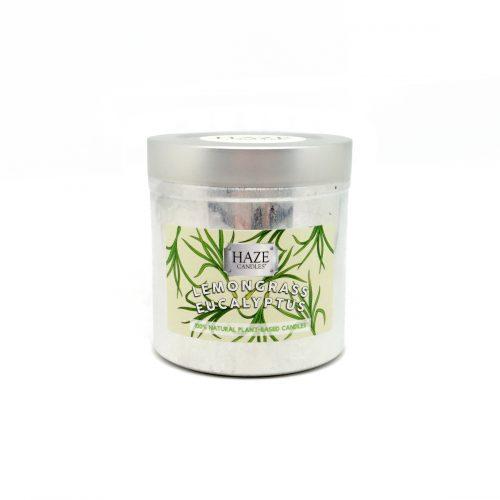 eucalyptus lemongrass scented candle