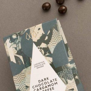 Dark Chocolate Cardamom Coffee Beans Dragee
