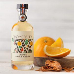 Orange and Mace Vinegar, Case of 6 - WomersleyNov15 1 500x500