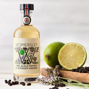Lime, Black Pepper & Lavender Vinegar, Case of 6 - WomersleyNov15 10 500x500