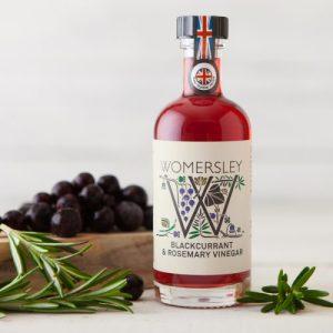 Blackcurrant & Rosemary Vinegar, Case of 6 - WomersleyNov15 33 500x500