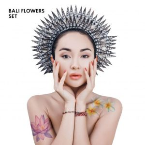 TATTon.me Bali Flowers Set - cool temporary tattoos - bali flowers 1 1 500x500