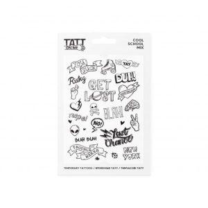 TATTon.me Cool School Mix - cool temporary tattoos - cool school 500x500