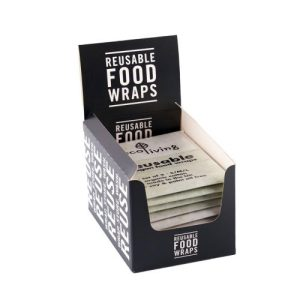 Vegan Food Wraps - A Set of 3 - ecoLiving vegan resuable food wraps4 500x500