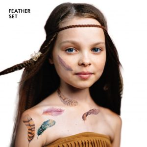 TATTon.me Feather Set - cool temporary tattoos - feather 1 500x500