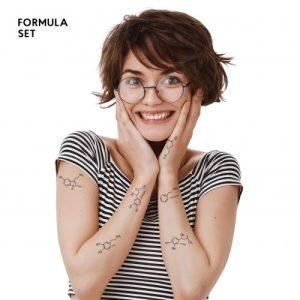 TATTon.me Formula Set - cool temporary tattoos - formula1 500x500