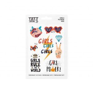 TATTon.me Girls Power Mix - cool temporary tattoos - girls power 500x500