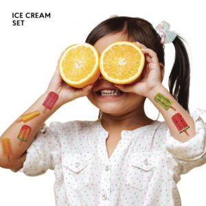 TATTon.me Ice Cream Set - cool temporary tattoos - ice cream 2 500x500