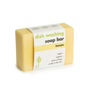 Washing-Up Soap Bar - Lemon - lemon dish soap bar 255 500x500
