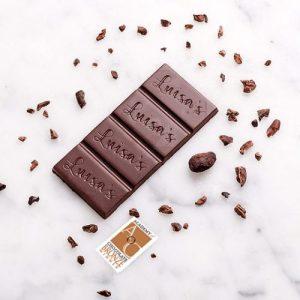 Chocolate Bar 25g Madagascar 72% Sambirano Valley - madagascan 72 bronze award 500x500