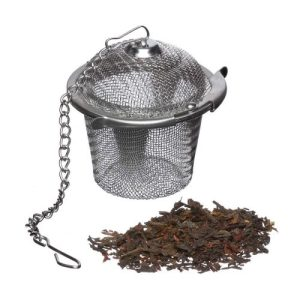 Tea Basket - Stainless Steel Loose Leaf Tea Infuser - reusable tea infuser 500x500