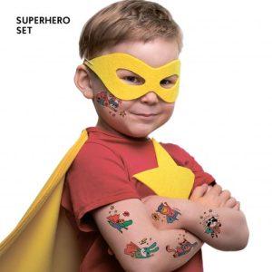 TATTon.me Superhero Set - cool temporary tattoos - superhero 5 500x500