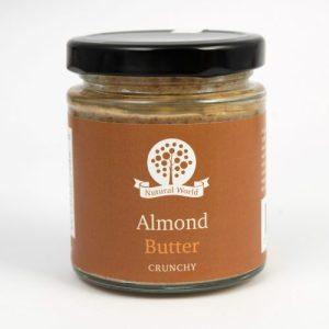 Crunchy Almond Butter - 170g Almond C 500x500