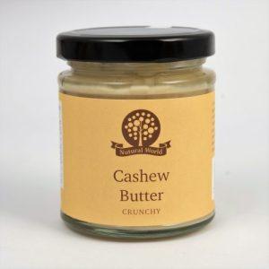 Crunchy Cashew Nut Butter - 170g Cashew C 500x500